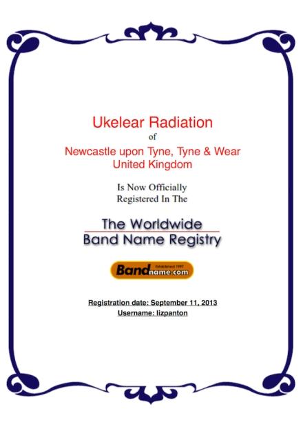 2013-09-11-Bandname-Certificate-UkelearRadiation-50%